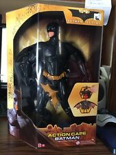 Batman Begins Action Cape Batman Figure Mattel 2005
