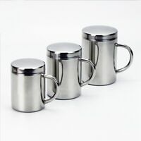 Double Insulation Coffee Mug 304 Stainless Steel Durable Drinking Cup with E7V1