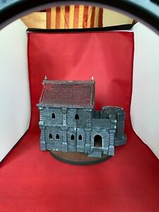28MM House b Building Table Top/Painted/Weathered/WW1/WW2/D&D/ACW/AWI/Napoleonic