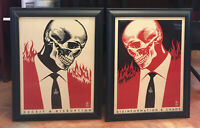 Shepard Fairey Obey Signed Numbered  200 Pcs RARE Street Art 18x24 Lithograph