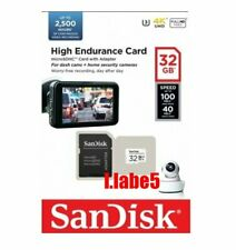 SanDisk High Endurance 32GB Micro SD SDHC Video Monitoring Card Dashcam Class10