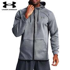 Under Armour Mens UA Hoodies Sweatshirts Full Zip Training Workout Hoodie Fleece