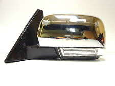 Mitsubishi Pajero/Montero/Shogun 2000-2014 Left outside wing mirror Chrome