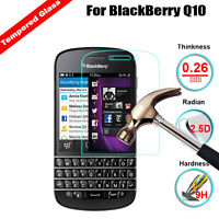 Premium 9H Tempered Glass HD Screen Protector Cover Skin Film For BlackBerry Q10