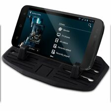 Zone Tech Car Dashboard Mount Holder Stand Non-Slip Silicone Pad Dash Mat Phone