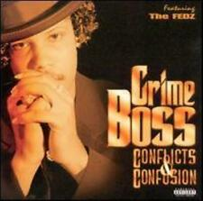 New: Crime Boss: Conflicts & Confusion Explicit Lyrics Audio CD