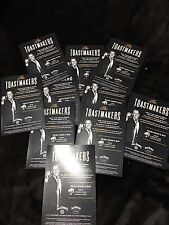 Jack Daniels /Sinatra Toast Makers Postcards Set Of 10. 4by6