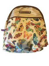 Lily Bloom Chantal Backpack Butterfly Twister Karma Bloom ECO Fabric NEW