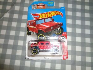 Hot Wheels Hummer Humvee Rescue Vehicle on long card,new,218/250,free p+p