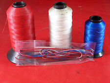 """Amo 65 Recurve string 8125 16 strand Red White Blue With Black serving 61.25"""""""