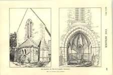 1927 New Baptistery St John The Evangelist Warminster Ce Ponting Architect