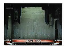 2017 Topps Star Wars Galactic Files Reborn Locations L-8 Level 1313