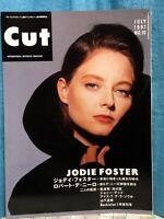 Cut International Interview Magazine 06/1991 Featuring JODIE FOSTER