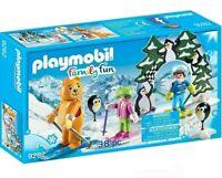 Playmobil 9282 Family Fun Ski Lesson Figure Playset