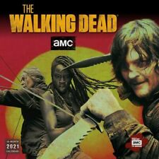 2021 The Walking Dead® 16-Month Monthly View Wall Calendar by AMC, 12
