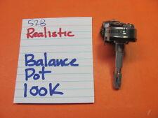 REALISTIC RECEIVER  STA-52B BALANCE POT 100K