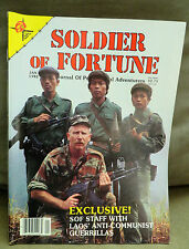 Soldier of Fortune Magazine- January 1982, Rare, Antique Back Issue