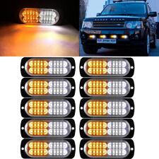 6 LED Luz intermitente luz estroboscópica de color ámbar de montaje recuperación banderillero Faro Camión Automóvil