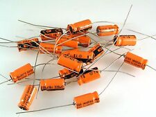Electrolytic Capacitor Axial 16V 220uF 20 pieces OL0524d