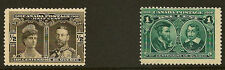 Mint Hinged Quebec Canadian Stamps