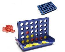 Vier gewinnt Mini Spiel / 4 in einer Reihe ca. 9,5 x 6,5 cm x 7 cm Reisespiel