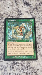 Wood Elves - Magic the Gathering MTG Exodus Single Rebecca Guay