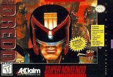 Judge Dredd (Super Nintendo Entertainment System, 1995) Authentic no box.