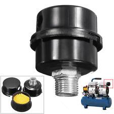 """2"""" Dia Compressor Air Intake Filter Rep 1/2"""" MPT Paper Cartridge Metal Silencer"""