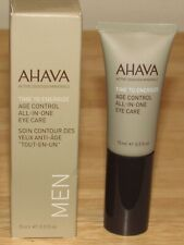 Ahava Men Eye Cream .5 Oz Full Size Time To Energize All In One Care Age Control