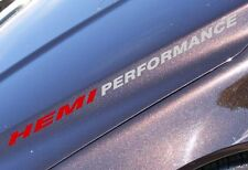 HEMI PERFORMANCE Hood decal Dodge Ram Hemi V8 1500 2500 2013 2012 2011 2010 09