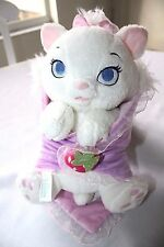Disney Babies Marie Cat Plush Aristocats Kitten Blanket Baby Disneyland World