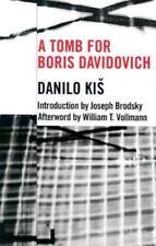 Eastern European Studies: A Tomb for Boris Davidovich by Danilo Kis (2001,...