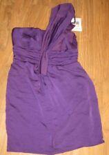 Trixxi Dress Girls Juniors Size 9, Purple One Shoulder, New NWT