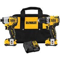 DeWALT DCK221F2 XTREME 12V MAX Brushless Cordless Drill and Impact Combo Kit