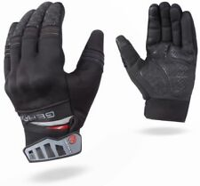 GearX Knuckles Leather Motorcycle Gloves