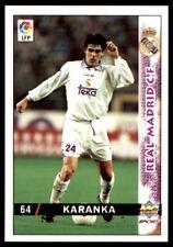 Mundicromo las inte de la Liga 98 Real Madrid 99 Karanka Nº 64