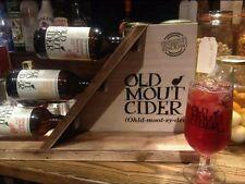 Old Mout Cider Wooden Bottle Display Stand Brand New PUB/BAR/MANCAVE