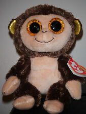 "Ty Beanie Boos ~ AUDREY the 6"" Monkey ~ 2015 European Exclusive NEW ~ IN HAND"