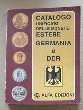 CATALOGO UNIFICATO DELLE MONETE ESTERE GERMANIA DDR ALFA EDIZIONI 1999 - A4