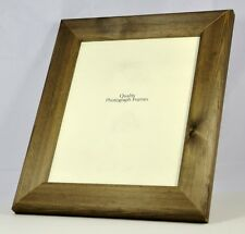 Solid Wood -Dark Walnut finish Photo/Picture Frame Extra Wide- Various Sizes