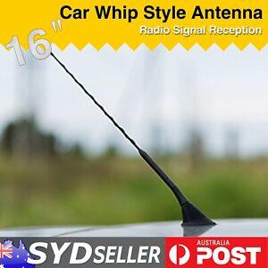 "16"" Auto AM FM Booster Aerial Car Roof Whip Radio Antenna Black For Hyundai Getz"