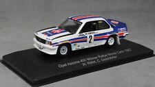 CMR Opel Ascona 400 Monte Carlo Rally Winner 1982 Walter Rohrl WRC002 1/43 NEW