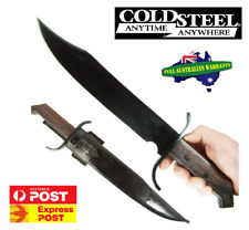 """Cold Steel CS88CSAB 1917 Frontier Bowie Fixed 12.25"""" 1055 Carbon Blade"""