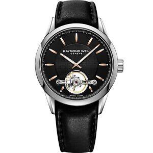 Raymond Weil 2780-SL5-20001 Men's Freelancer Black Automatic Watch