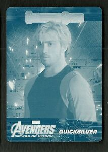2015 Avengers Age of Ultron Character Shots CS-8 Quicksilver 1/1 Printing Plate