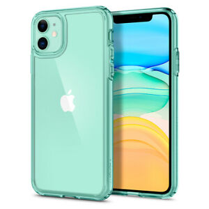 For iPhone 11 11 Pro 11 Pro Max Case   Spigen [ Ultra Hybrid ] Clear Slim Cover