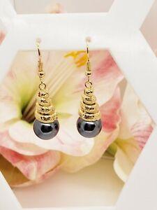 Hawaiian Twist Pearl Earrings