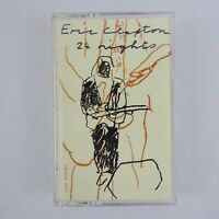 Eric Clapton 24 Nights Cassette Two Only 1991 Reprise Records