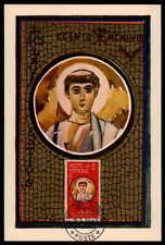 Vatikanstadt MK 1959 martyrs maximum Carte CARTE MAXIMUM CARD MC cm as47