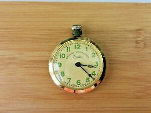 Vintage Railway Timekeeper Duke Pocket Watch, Working, Needs Attention